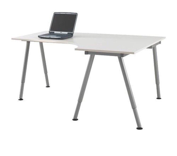 Ikea Galant White Right Corner Desk Good Condition