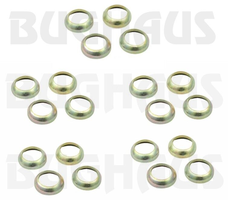 Wheel Hardware Adapter Washers-converts 60° taper to ball seat-20 pcs FREE SHIP!