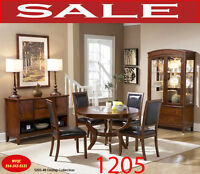7pc dining room set, large dining room sets, cherry dining room