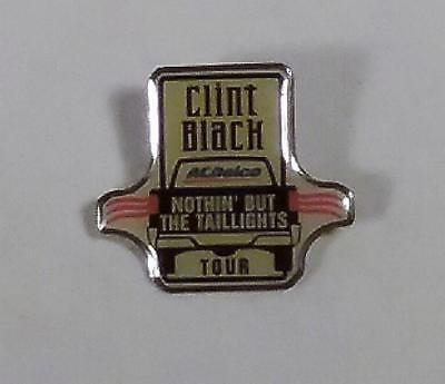 VTG 1995 AC DELCO CLINT BLACK NOTHIN' BUT THE TAILLIGHTS TOUR ENAMEL PIN