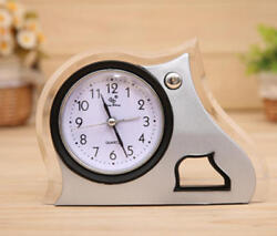 Creative alarm clock modern style desk clock home office decor-P03
