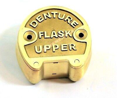 1 Premium Original Brass Dental Denture Upper Flask New Lab Professional