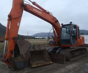 FOR SALE 2008 HITACHI ZAXIS 120 WITH BLADE