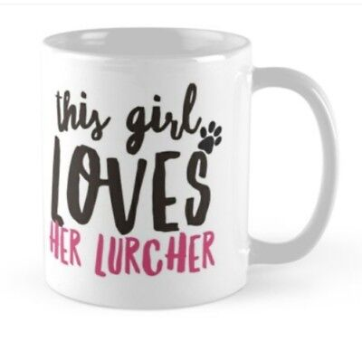 LURCHER GIFT MUG IDEAL PRESENT for any Lover of Lurchers