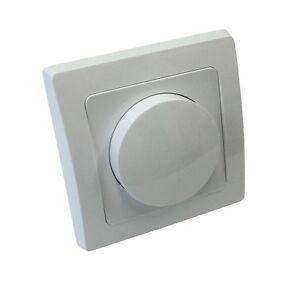 LED Dimmer Unterputz stufenlos f. dimmbare LED-Lampen geeignet Helligkeitsregler