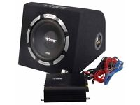 Vibe car sub and separate vibe amp