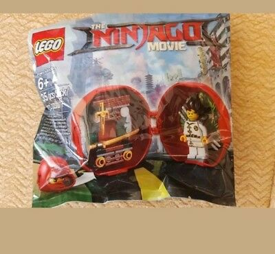 LEGO NINJAGO MOVIE KAI'S DOJO POD 5004916 POLYBAG MINIFIGURE NEW
