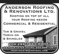 Need A New Roof? Call 204-296-Roof(7663)!!!