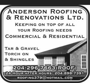 Commercial And Residential Roofing All Winter Long!!!