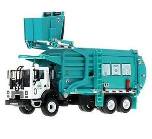 1/43 Scale Diecast Material Vehicle Car Model Toys Transporter Garbage Truck S