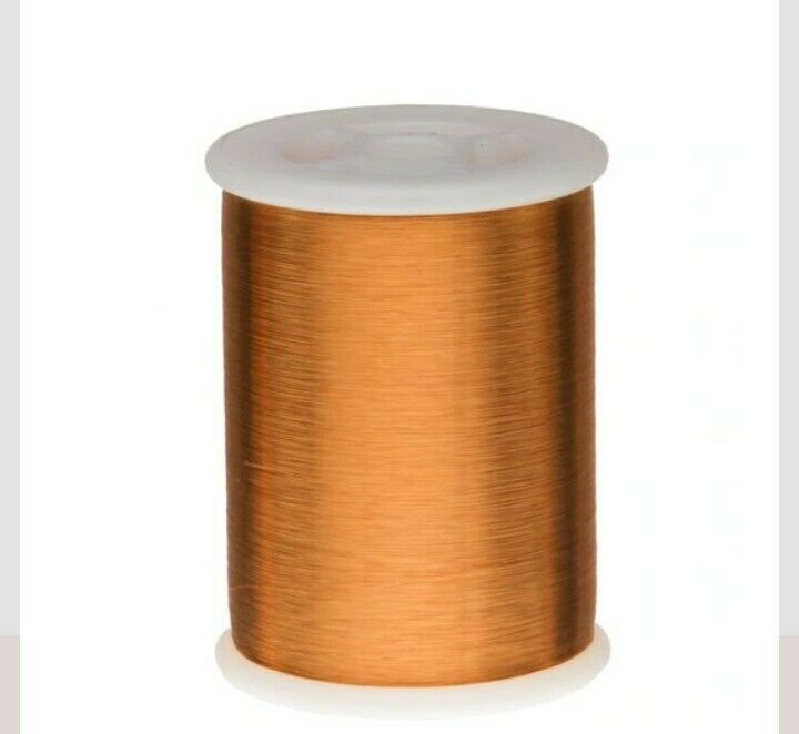 Magnet Wire, Formvar Copper Wire, 42 AWG Heavy Build1 Pound