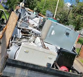 Free scrap metal taken we also pay for large amounts of metal