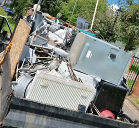 Scrap metal collection free service, we pay for big amounts of metal