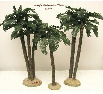 Fontanini by heirloom nativity palm trees Figurine Set of 3