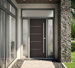 Residential Exterior Door Front Door Entry Door glass Windows