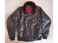 Headwind Mfg USN M422a Leather Flight Jacket size 40