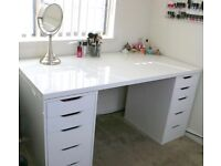 IKEA Desk/Dressing Table in White £50 RRP £150