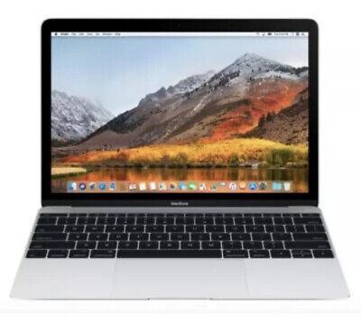 "2016 🍎 Apple MacBook 12"" Retina  1.3 M7 8GB 256 SSD Office Logic X Final Cut A+"