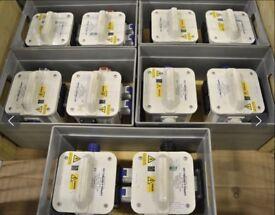 6 x Carroll & Meynell Drop box Distribution units