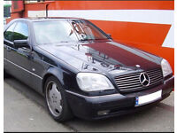 Wanted Mercedes CL500 CL 420 / S500 S420 - S - CL - w140 c140