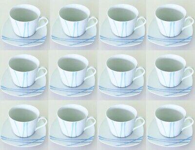 2 X JUEGO DE 6 TAZAS DE CAFE/TE DE 23 cl CON...