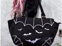 Banned Apparel gothic bats handbag