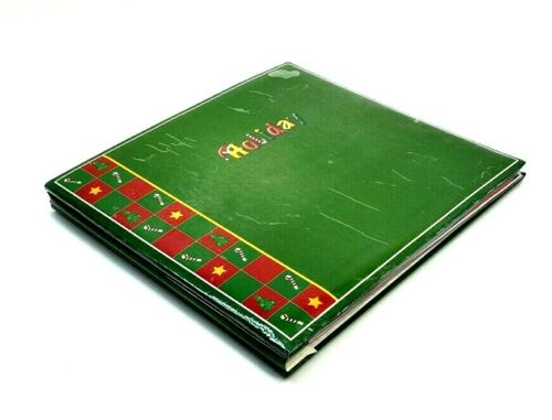 Creative Memories Christmas Holly Green 12 x 12 Album w/ 22 Pages & Stickers