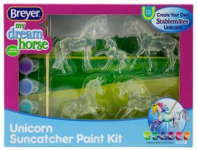 Breyer My Dream Horse Suncatcher Stablemates Unicorn Crafting Set 4220
