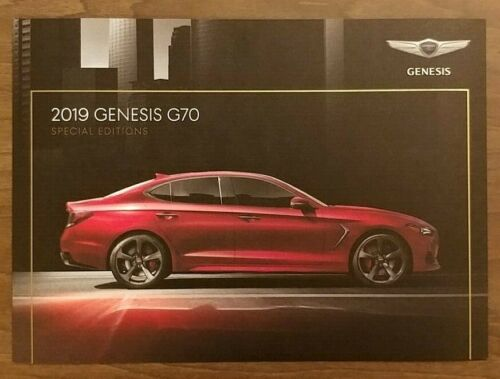 2019 GENESIS G70 Special Edition Brochure Catalog Folder US 19 Design Dynamic