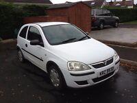 Vauxhall Corsa Life Dual Fuel 2004 (Repair or Parts)