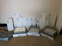 Ikea kitchen cabinet doors and draws - modern and in good condition