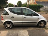 Mercedes-Benz A Class 1.4 A140 Classic SE 5dr (SWB); 3 Owners, Electric windows, Air conditioning