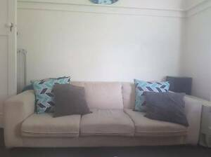 Cream 3 Seater Lounge Sydney City Inner Sydney Preview