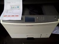 LEXMARK C925 A4/A3 COLOUR LASER PRINTER WITH NETWORK CARD