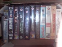 VHS Video Tapes Films ..... Conan, Matrix, Layer Cake, Blues Brothers, Entrapment etc.
