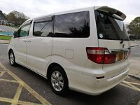 Toyota Alphard 8 Seats Automatic NOT Ford S-Max Seat Alhambara Renault Scenic Ford CMax Kia Carens