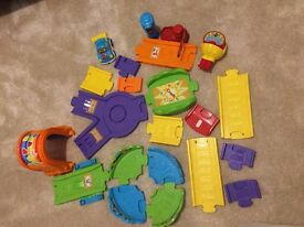 Little tikes track with 1 car