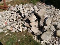 FREE: Concrete rubble