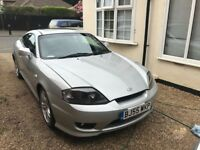 Silver AUTO Hyundai Coupe 55 Reg in good working order, Air Con, Cruise Control, Bluetooth telephone