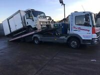 24/7 Accidnet Breakdown Recovery service in Essex and London.
