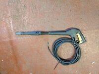 Karcher powerwash lance and hose