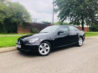BMW 5 SERIES 2.0 520D SE 4DR AUTOMATIC DIESEL ***LONG MOT LOW MILES FSH ONE OWNER FROM NEW***