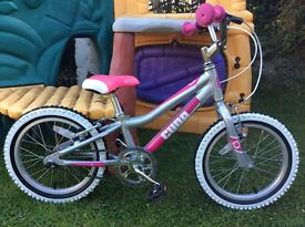 "Cuda Blox 16"" Wheel Girls bike - Light Weight & Immaculate"