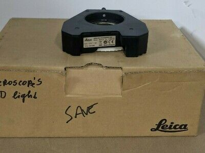 Used Leica Microscope Meb-123 Led Ring Light - 10450476 A60 No Cord