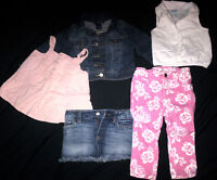 BABY GIRL CLOTHES '' GENTLY USED'' 12-18 MONTHS