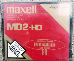 Floppy Disk Maxell MD2-HD $ 10