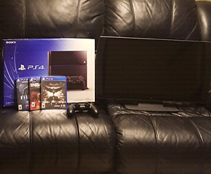 """$500 OBO PlayStation 4 with 24"""" Sony 3D TV"""