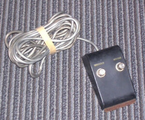 Wanted foot switch for a Gibson amp