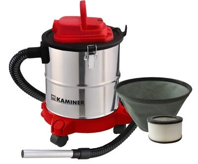 Aschesauger Kaminsauger Staubsauger 20L 1200W HEPA Filter Grillsauger #1162