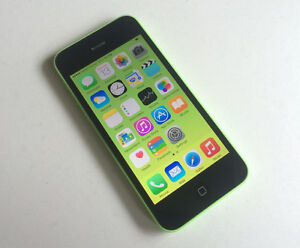 Apple iPhone 5C 8GB Green Fido Mobile Good Condition $125